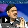 Sheikh Rasheed Exclusive interview on contempt of court notice to Imran Khan