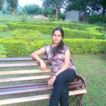 Pakistani Girl in Park