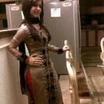 Pakistani Sweet Girl in Kitchen