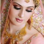 Pakistani Beautiful Bride in Pink Dress
