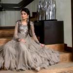 Pakistani Bridal in Grey Dress