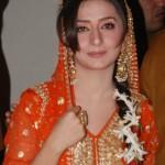 Pakistani Bridal in Mehndi Dress
