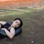 Pakistani Girl Swimming