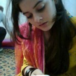 Pakistani College Girl On Mobile