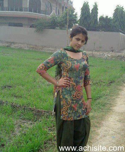 Punjabi lady nude in village