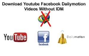 how to download fb videos using idm