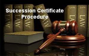 Succession Certificate Procedure